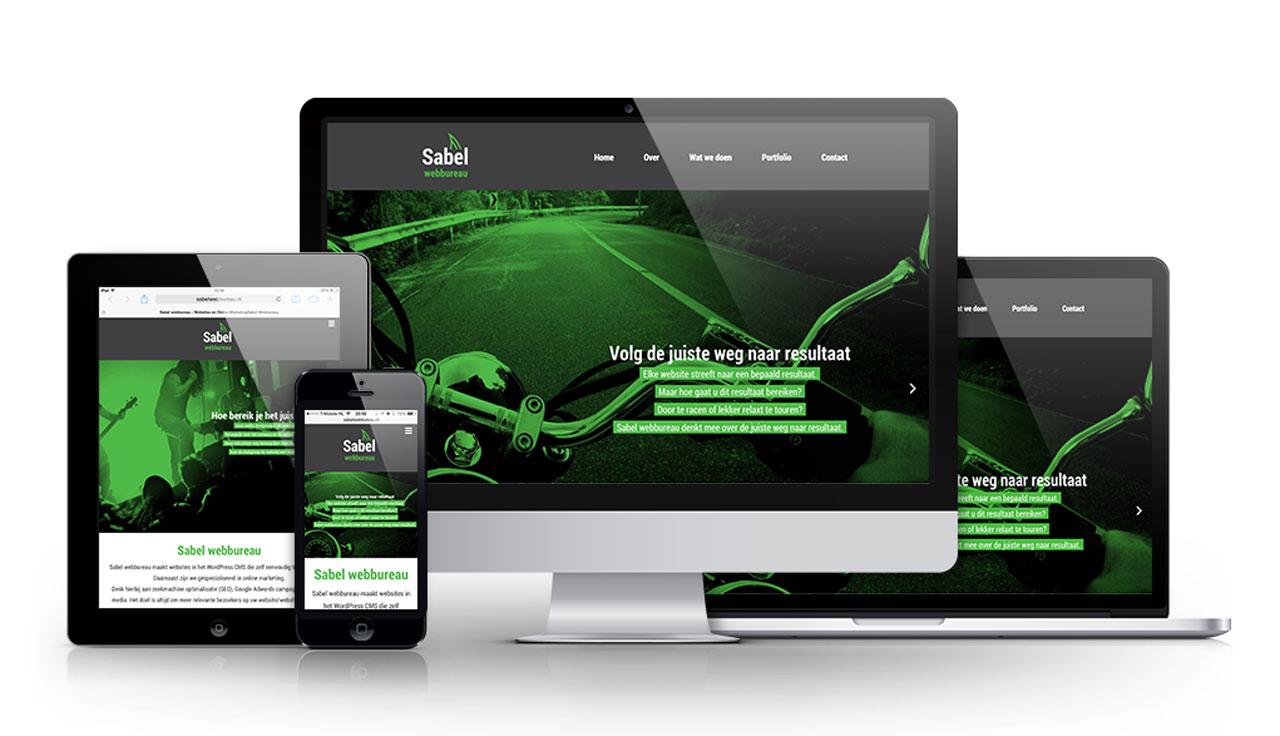 Responsive webdesign – Sabel Webureau