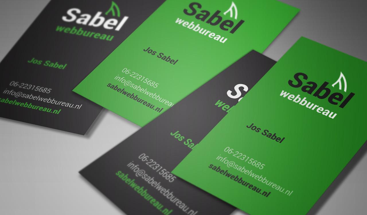 Logo en huisstijl ontwerp – Sabel Webureau